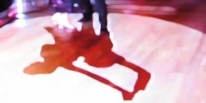 Ballroom Dancers Shadow